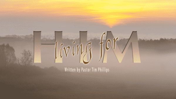 Living for Him Archives - Gloria Dei Lutheran Church